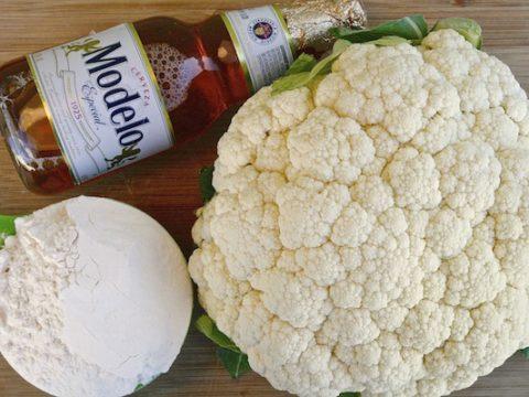Baja Style Cauliflower Tacos