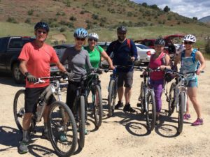 Group Mtn Bike