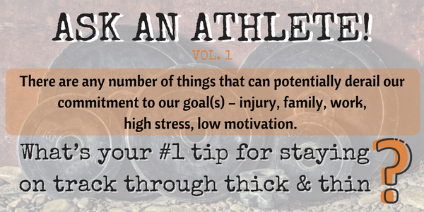 ASK AN ATHLETE